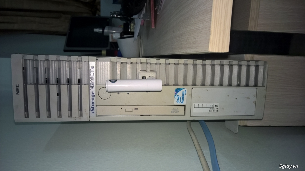 Bán Case Server Nec NS100TA cho ae làm bootrom + Màn hình Cảm ứng 17 inch - 1