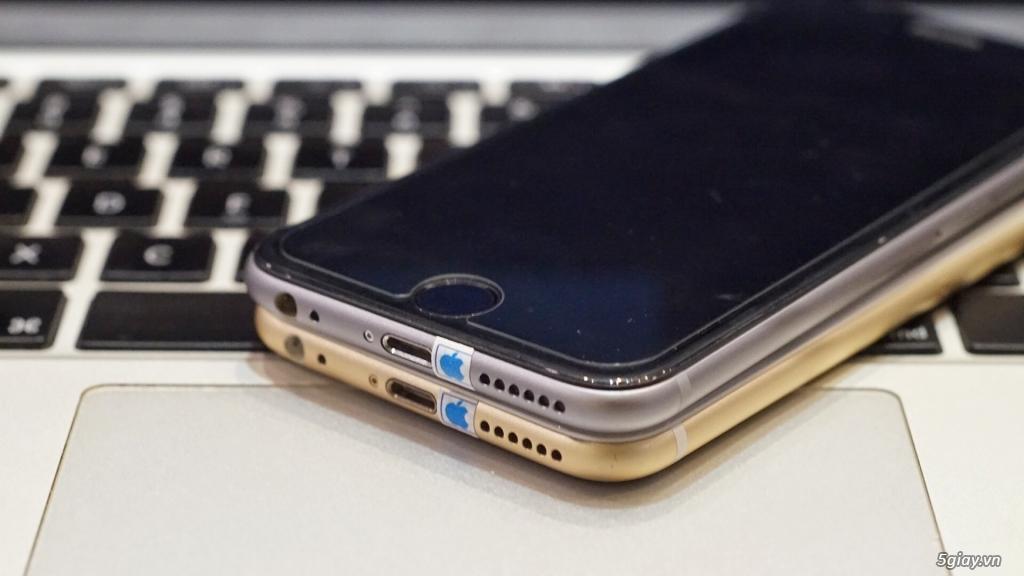 iphone 6 128gb gold vs 6 64gb Gray zin giá rẻ - 1