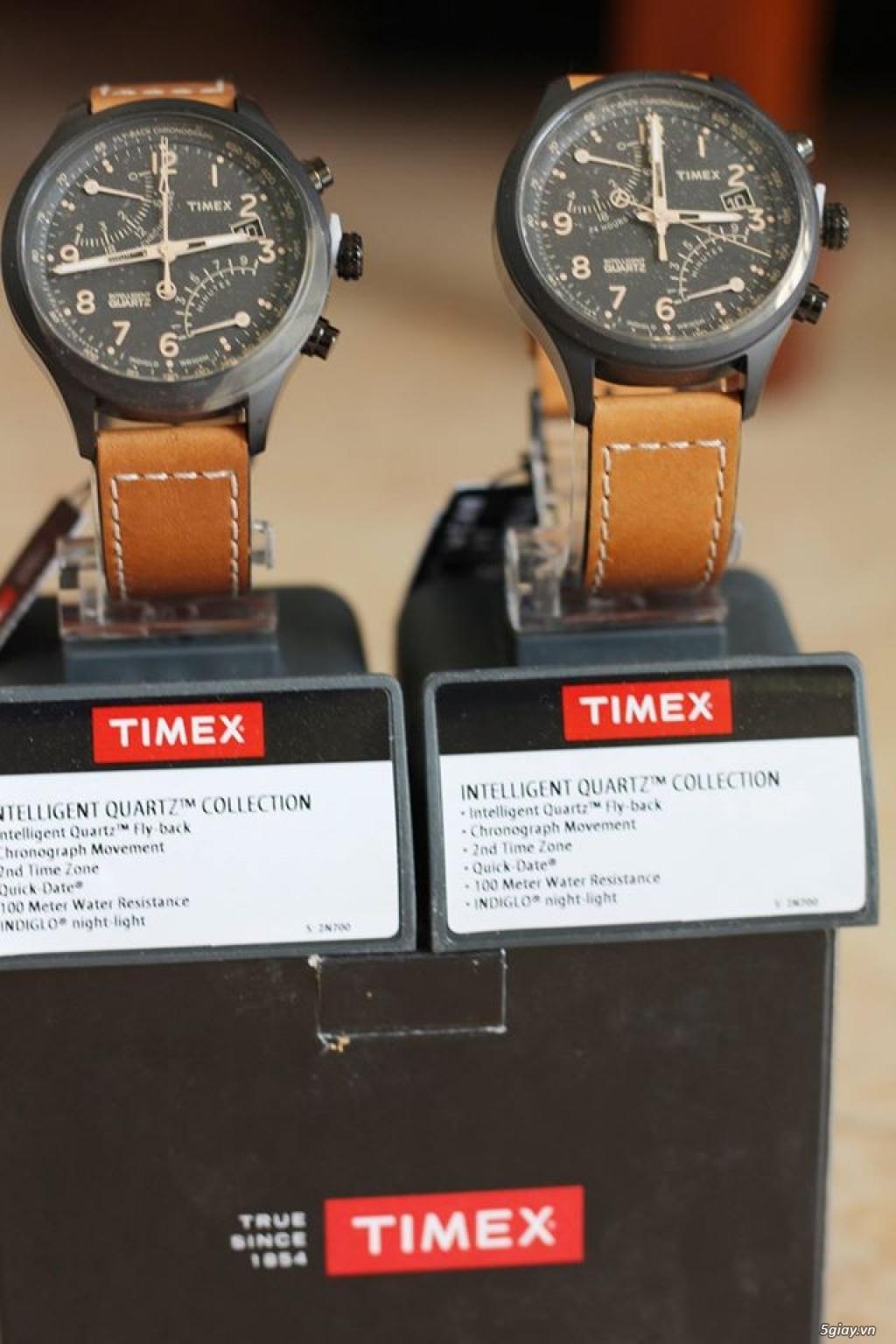 Bán đồng hồ Timex Men's T2N700 Intelligent Quartz SL - 3