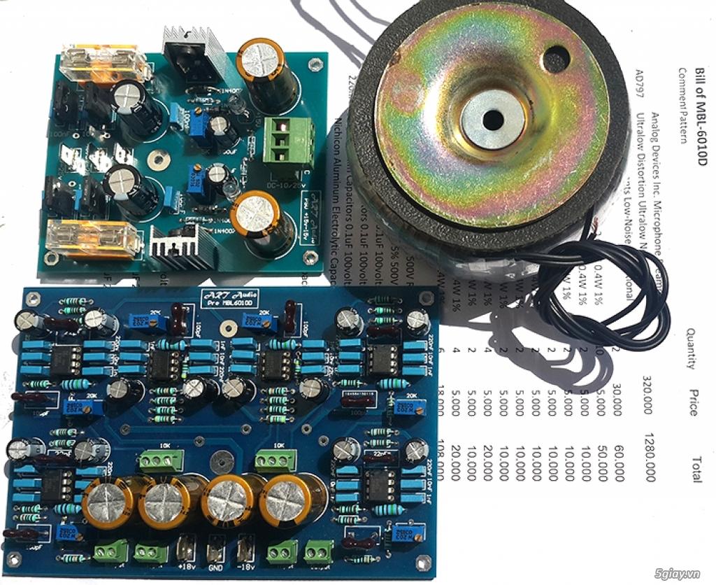 Linh kiện điện tử, PCB và DIY kit cho High-end Audio . ART Audio - 22