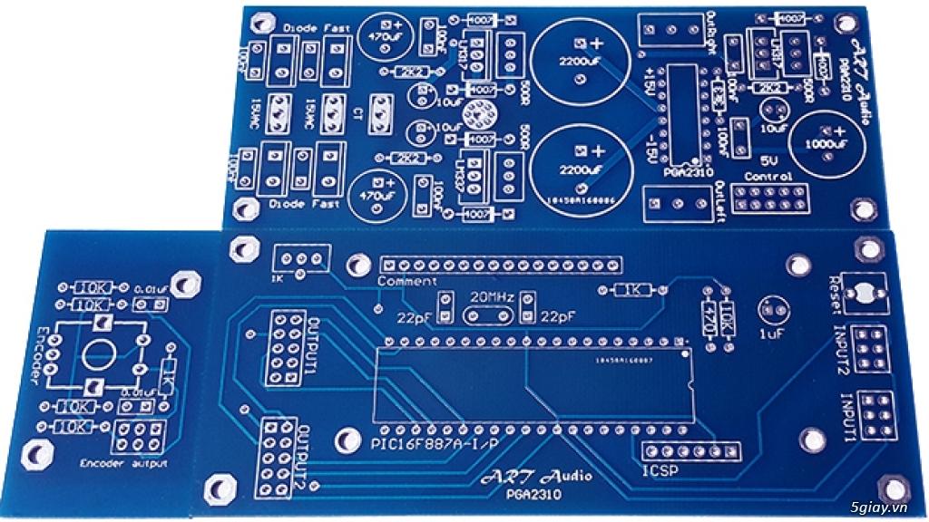 Linh kiện điện tử, PCB và DIY kit cho High-end Audio . ART Audio - 24