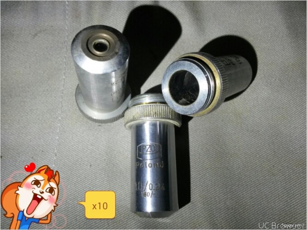 Vật kính - Kính hiển vi - 2