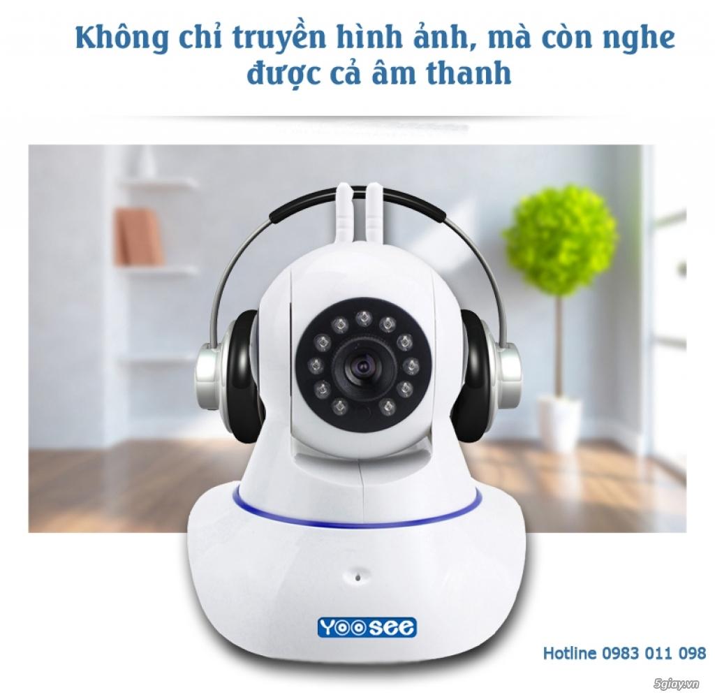 Camera IP WIFI Yoosee HD - Phù hợp với mọi người