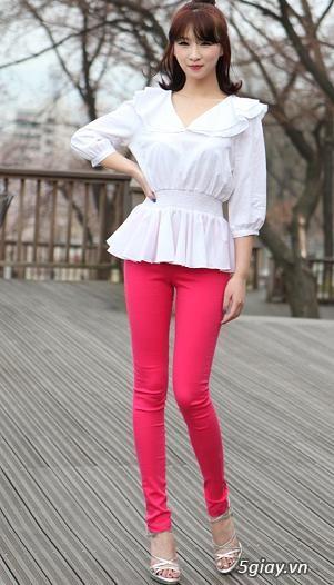 Chọn quần Skinny theo phong cách Hàn Quốc cực đẹp