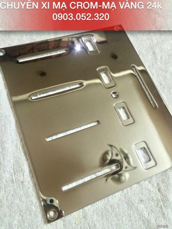 Nhận mạ crom-mạ vàng 24k vỏ điện thoại - 2