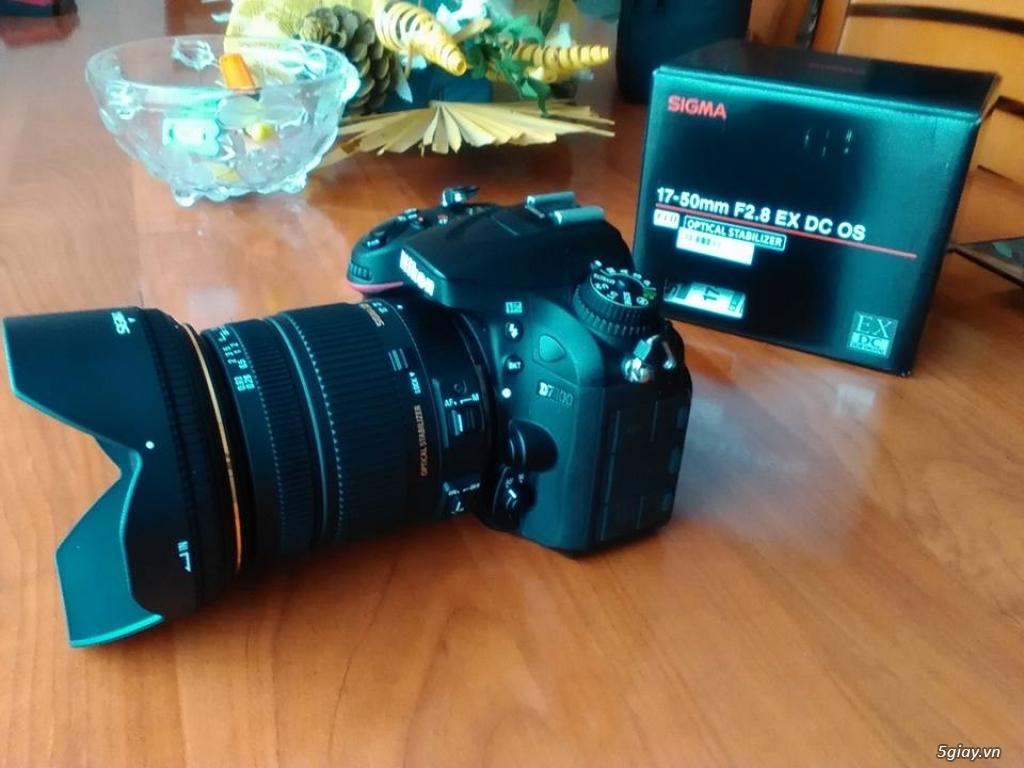 Nikon D7100 Sigma 17-50 OS cần bán hoặc giao lưu - 2