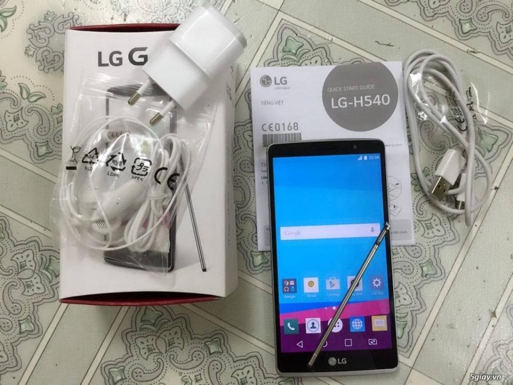 LG G4 Stylus H540 mới mua, fullbox, 2sim 2 sóng, còn bh TGDĐ rất lâu