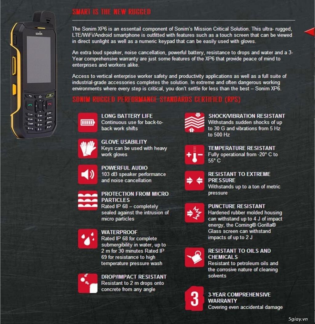 [Toàn quốc] Cần bán Sonim XP6700 mới xách tay từ Mỹ về - 6