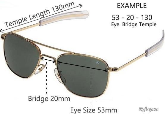 Mắt kính nam, kính mát nam hàng hiệu xách tay USA - 20