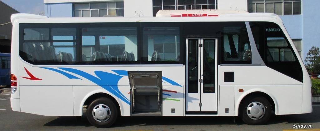 xe 29 chỗ samco-isuzu giá chính hãng tại nhà máy ôtô củ chi. - 14