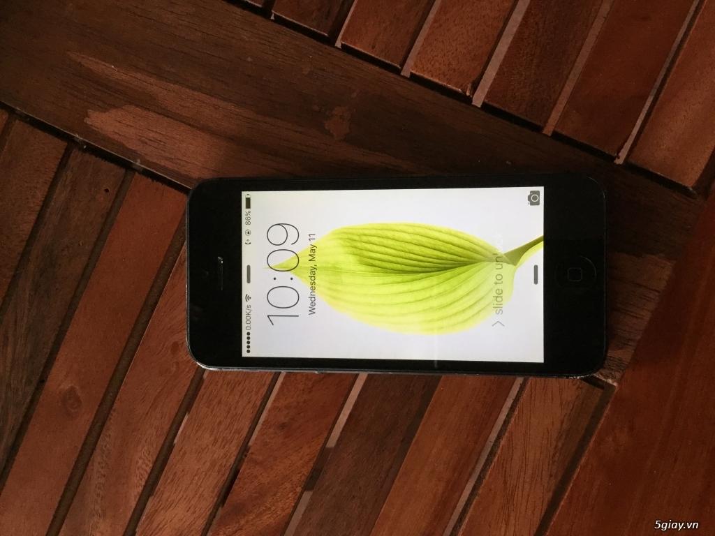 Bán 01 iPhone 5 32Gb lock nhật đen ios 9.0.2