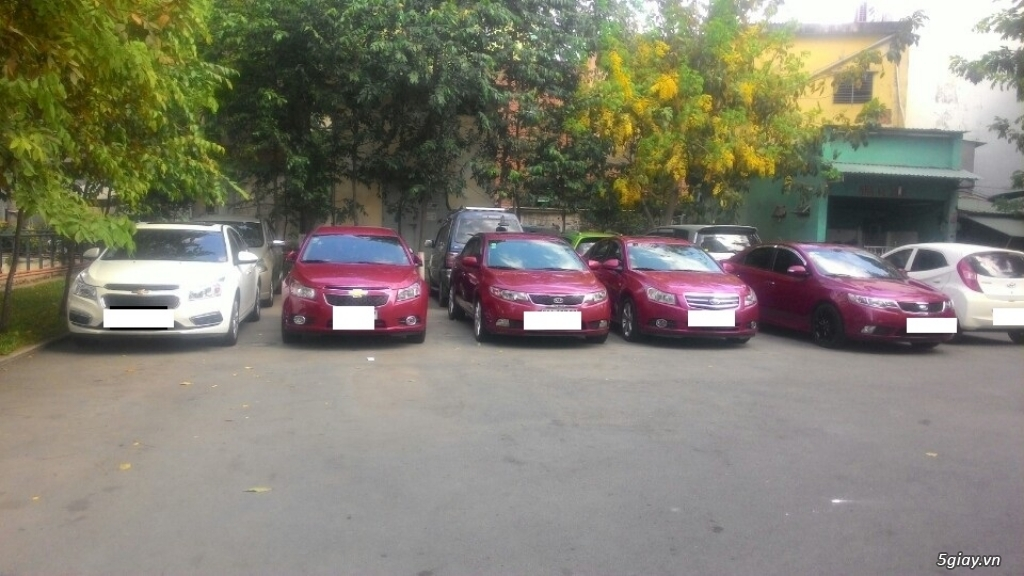 Cho thuê xe ô tô tự lái 4 -7 chỗ. Xe Đẹp - Giá Tốt. A.Vũ 0913980722 - 8