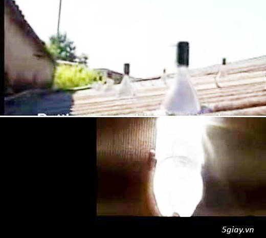 1 lít ánh sáng - cho bà con vùng sâu không có điện - 1