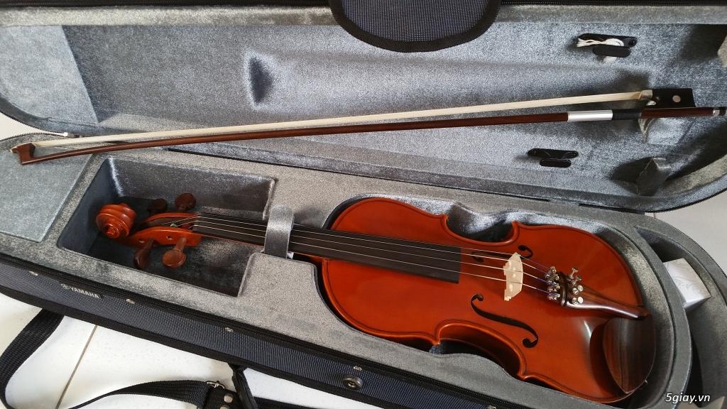 B n violin yamaha model v 5 size 3 4 gi 4tr 5giay for Violin yamaha 4 4