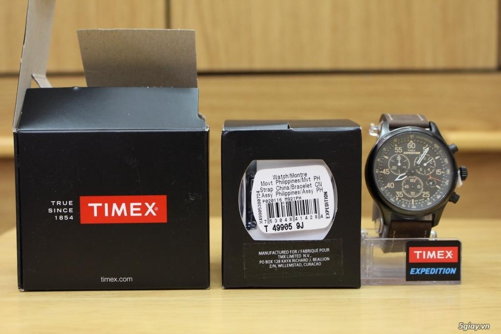 Đồng hồ Timex Expedition, Timex Scout, Timex Weekender - brand-new 100% - nguyên seal điều khiển - 3