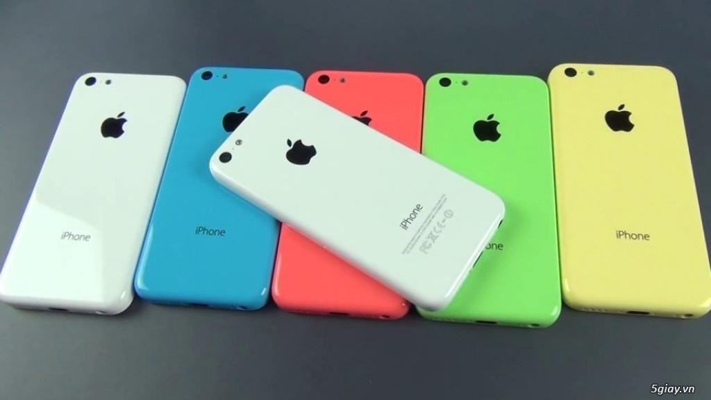 iPhone 5C LOCK Zin Đẹp Giá Cực Mềm Cho Anh Chị Em 5Giay - 2