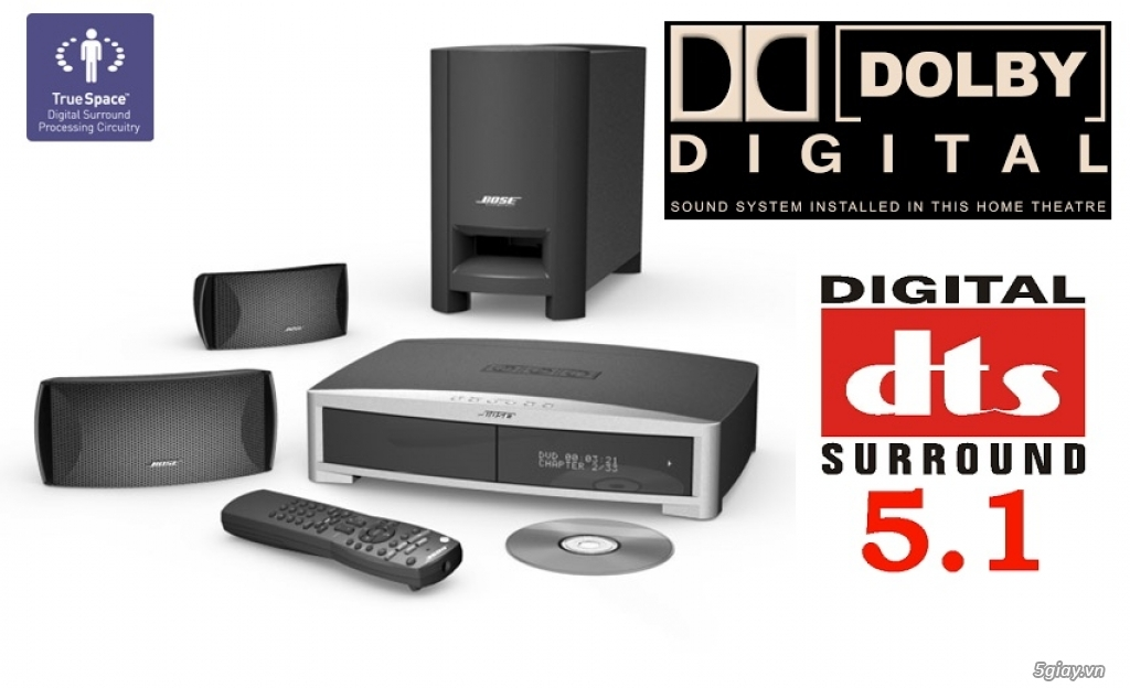 D N M Thanh Bose 321 D Ng Dvd Home Theater 7t2 Tp H