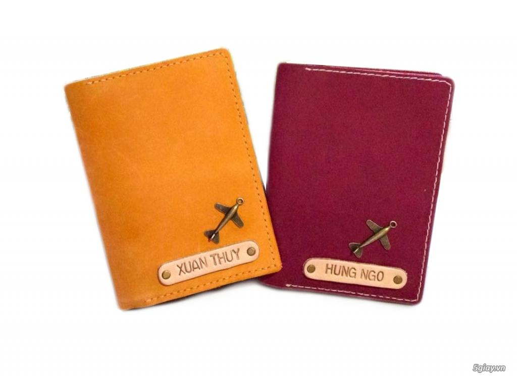 Vỏ bảo vệ Hộ Chiếu ( Passport cover, Passport Holder ) cực độc - 6