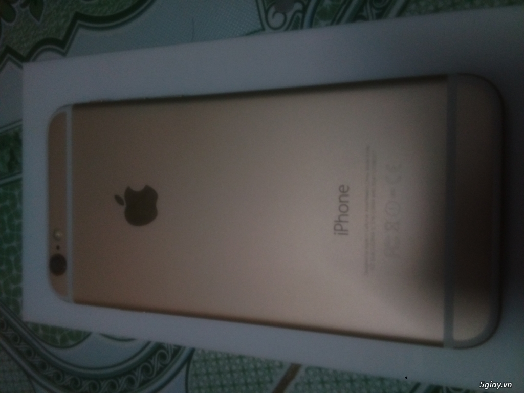 Iphone 6 128GB Gold lock USUS - 1