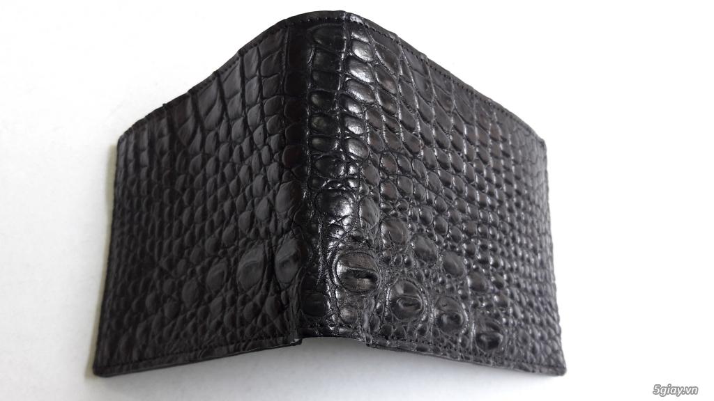 Bóp và dây nịt da cá sấu thật 100% - 4