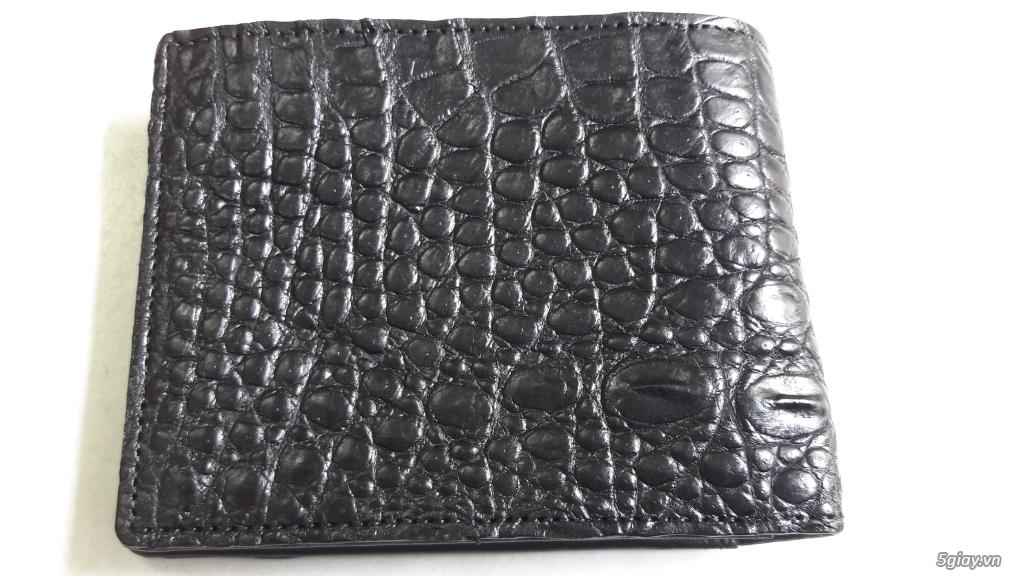 Bóp và dây nịt da cá sấu thật 100% - 3