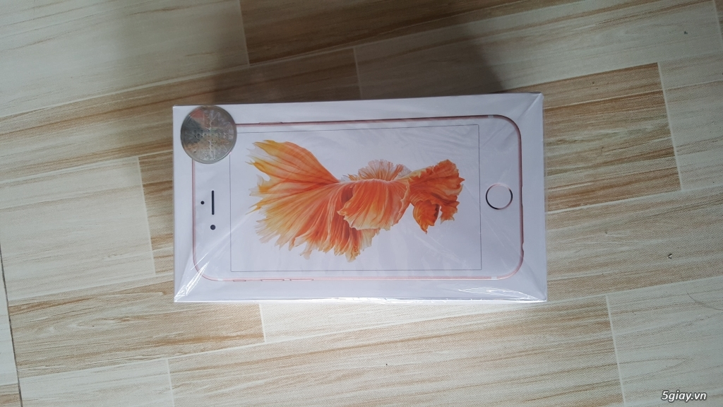 Iphone 6s 16gb gold VN mới 100% chưa active.
