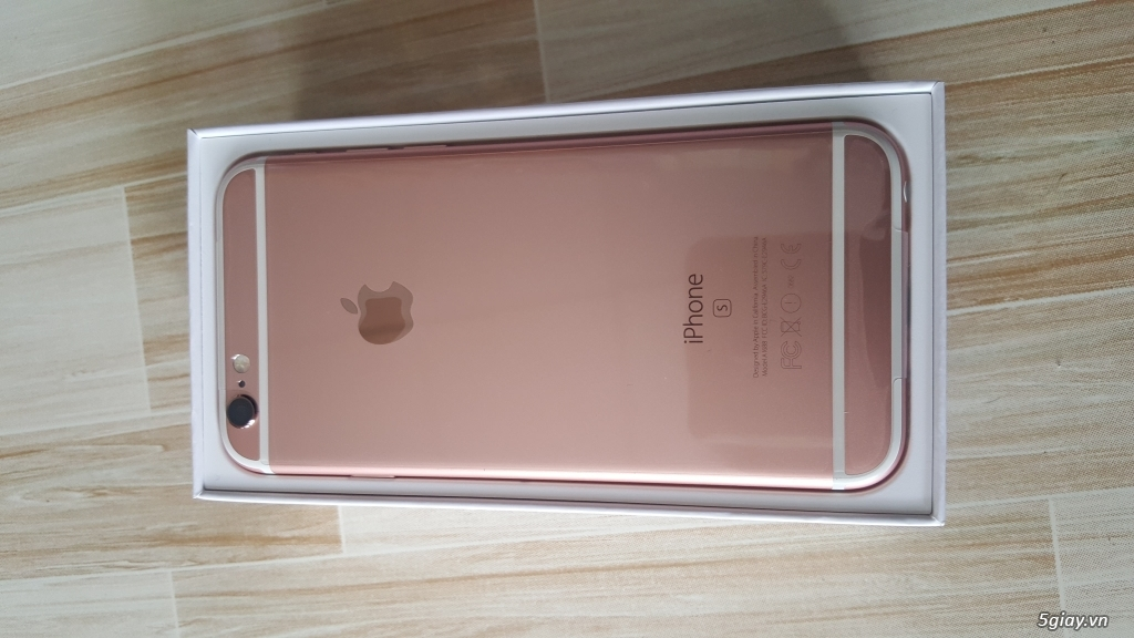 Iphone 6s 16gb gold VN mới 100% chưa active. - 1
