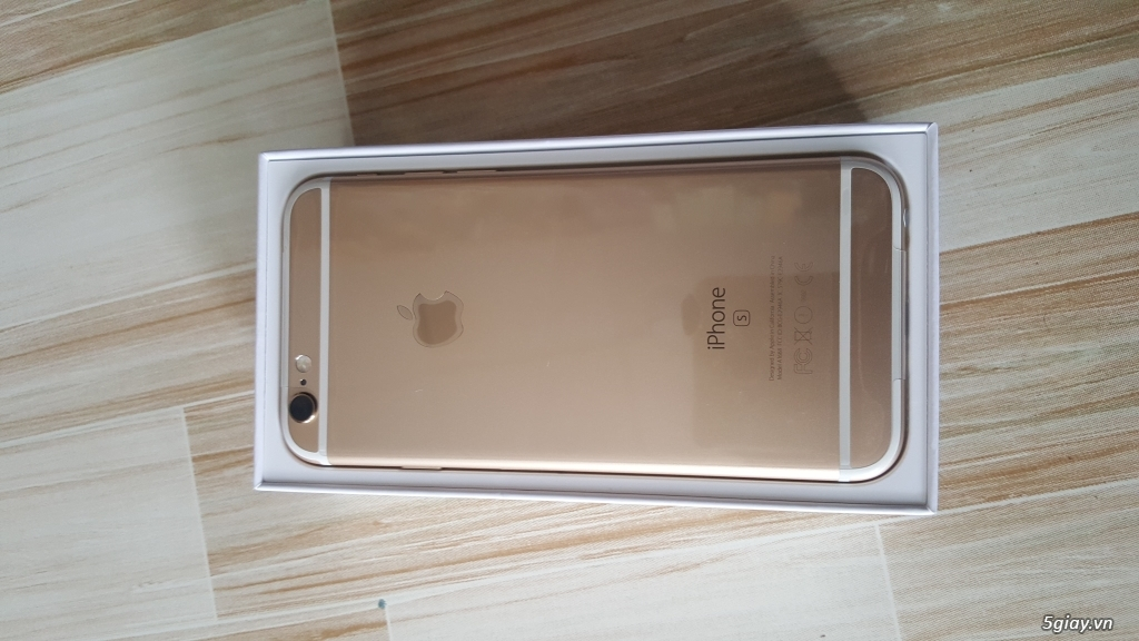 Iphone 6s 16gb gold VN mới 100% chưa active. - 3