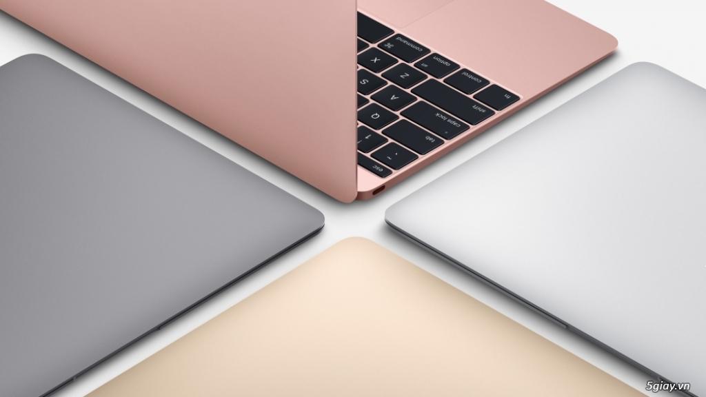 The new macbook 12 inch early 2016 new 100% chưa active giá tốt,hàng xách tay zp - 1