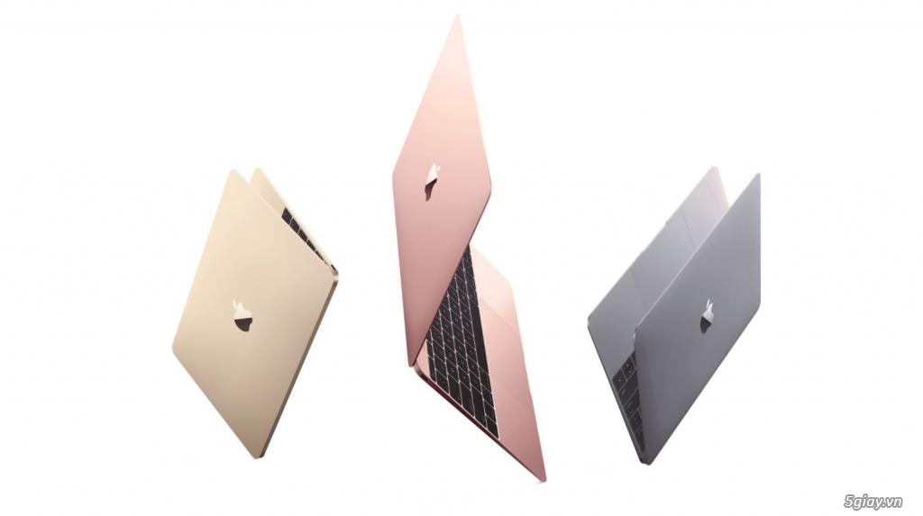 The new macbook 12 inch early 2016 new 100% chưa active giá tốt,hàng xách tay zp
