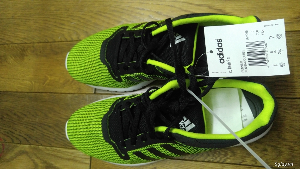 Bán nhanh 1 đôi ADIDAS CC Fresh 2m ( Green - no box 100% nguyên tag ) giá rẻ nhất có thể - 3