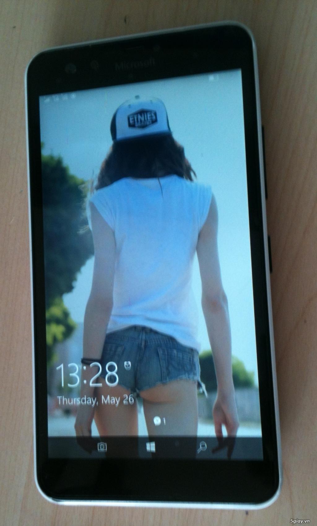 Lumia 640XL Ốp lưng gỗ 2,5 triệu - 1