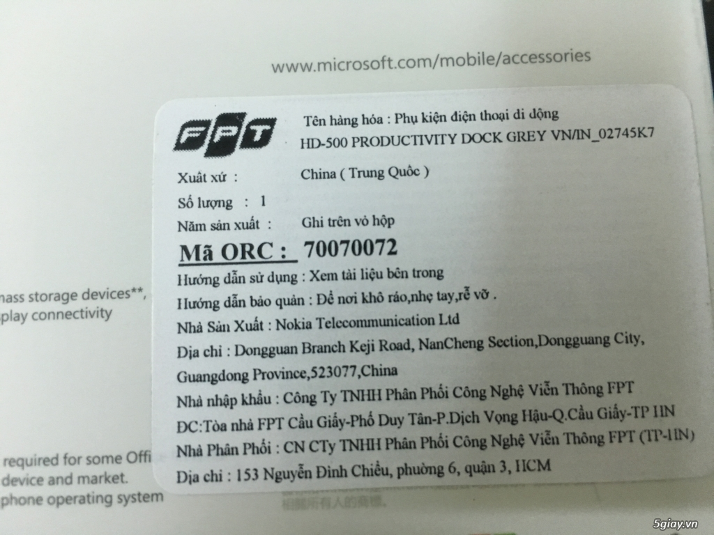 Display Dock cho Lumia 950 XL & 950 - 3