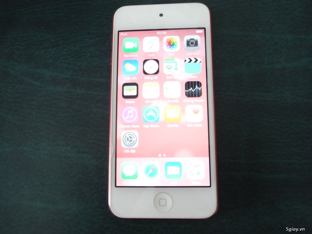 Ipod touch gen 5 hồng 16g - 1