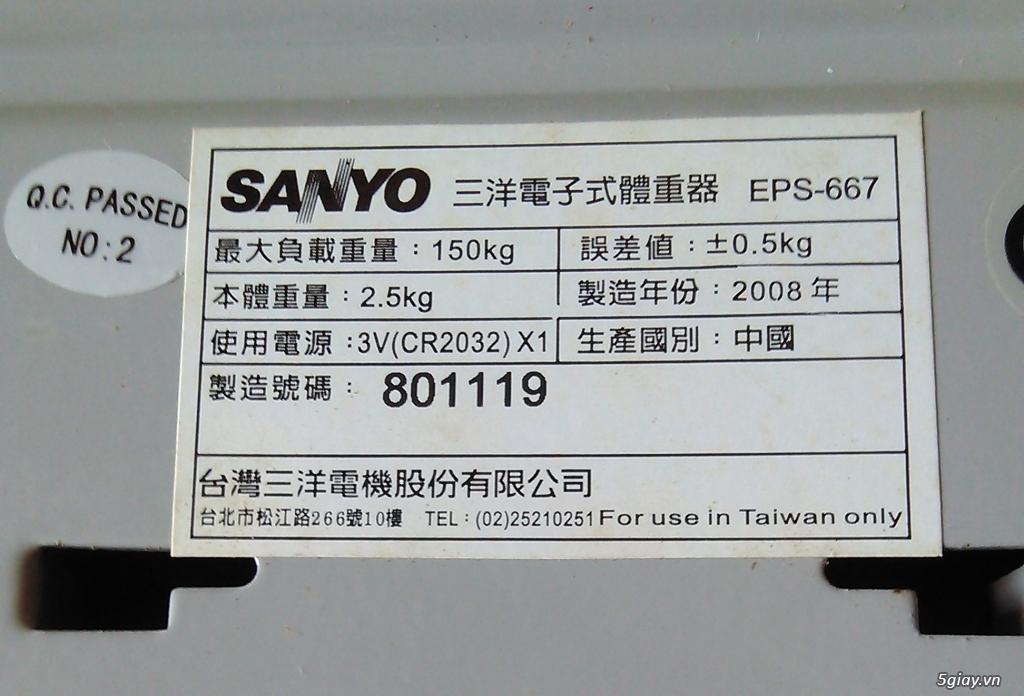 Cân sức khỏe điện tử Sanyo - 3