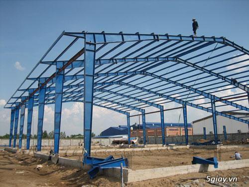 Nhận thi công nhà thép tiền chế tại Thái Bình