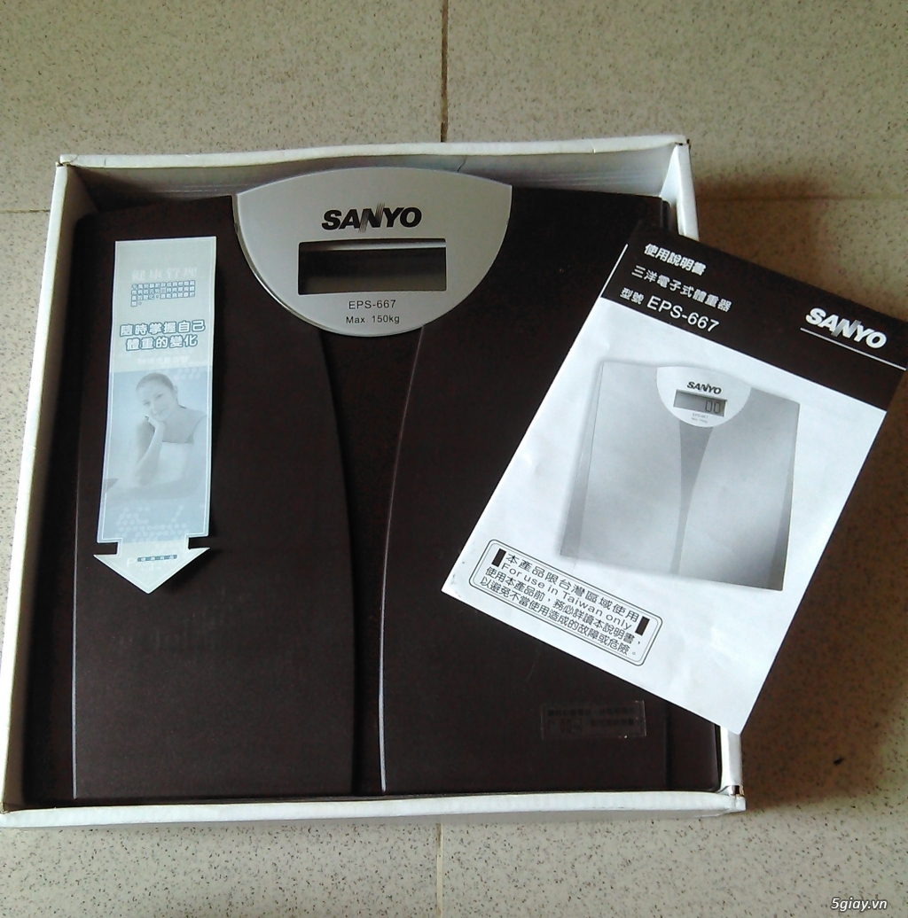 Cân sức khỏe điện tử Sanyo - 2