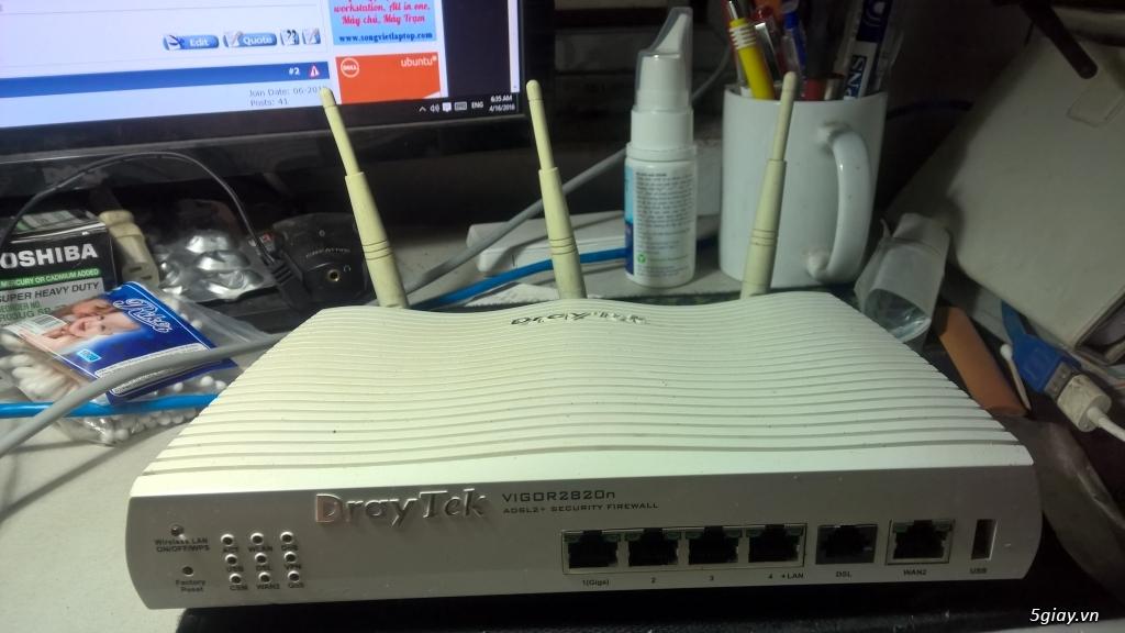 fiber-router-wifi-modem: tplink, Draytek, fiber quang Gpon, linksys, totolink - 7
