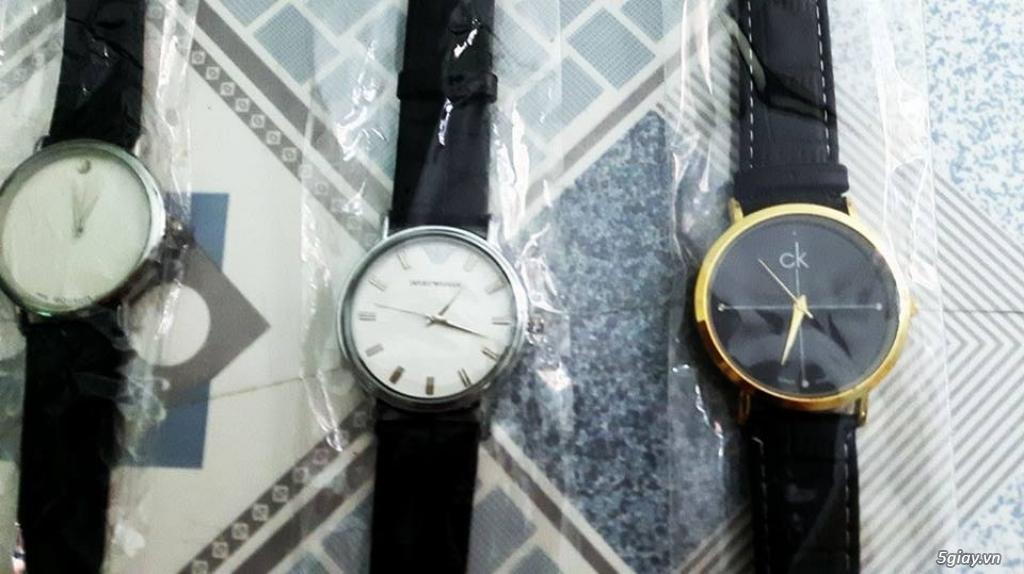 Đồng hồ thời trang nam nữ chỉ 90K - 3