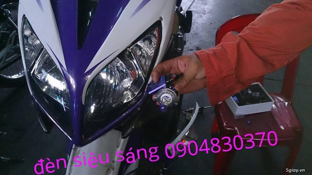 Làm đèn xe siêu sáng...ko sáng hơn ko lấy tiền giá siêu mềm