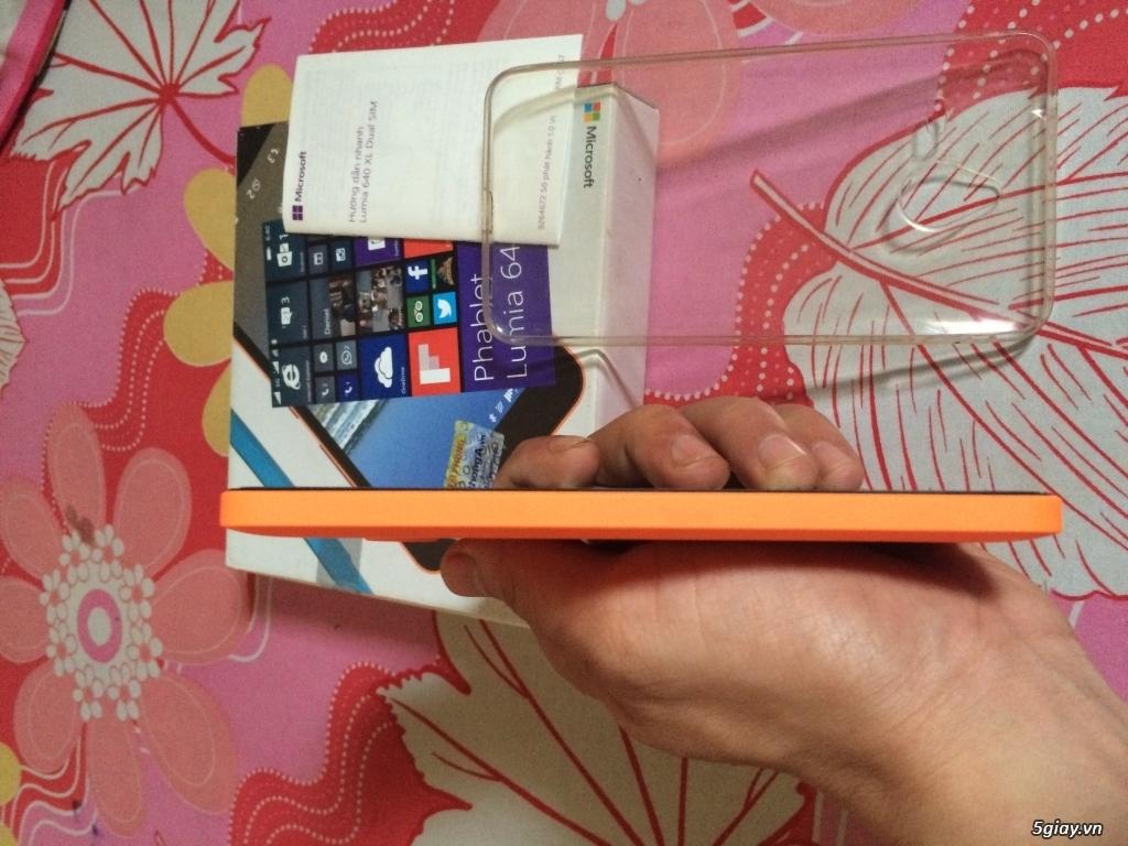 microsoft Lumia 640XL màu Cam full box Bảo hành đến T4/2017 - 2