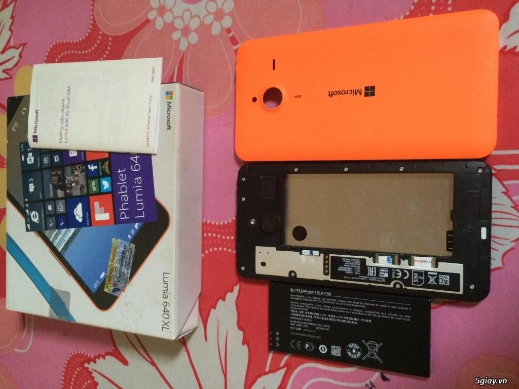 microsoft Lumia 640XL màu Cam full box Bảo hành đến T4/2017 - 3