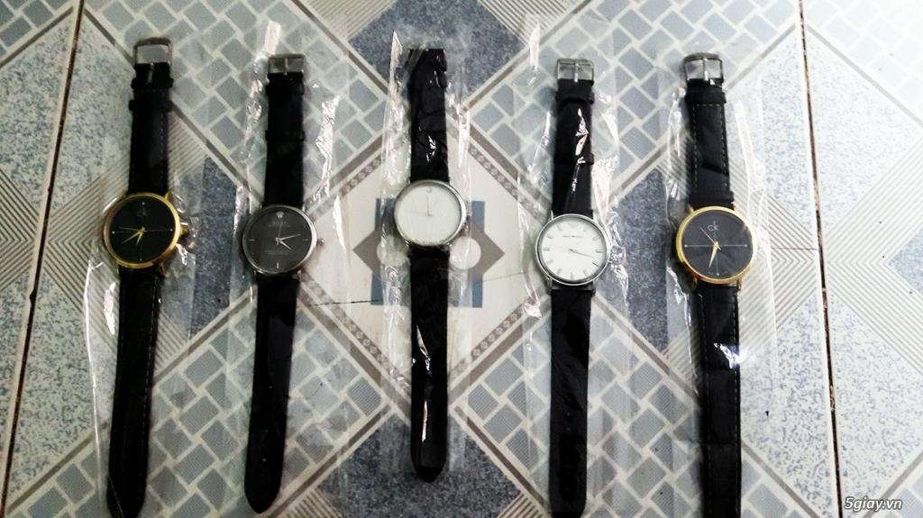 Đồng hồ thời trang nam nữ chỉ 90K - 1