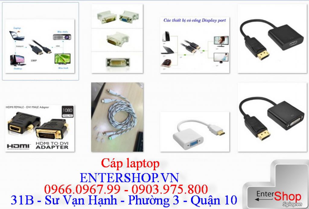 Tất cả dây cáp displayport, hdmi, dvi vga .....cho laptop, macbook - 9