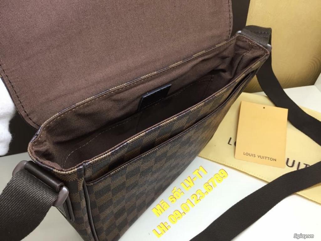 Túi LV District PM (size 25cm) màu caro nâu, hàng super đẹp. - 3