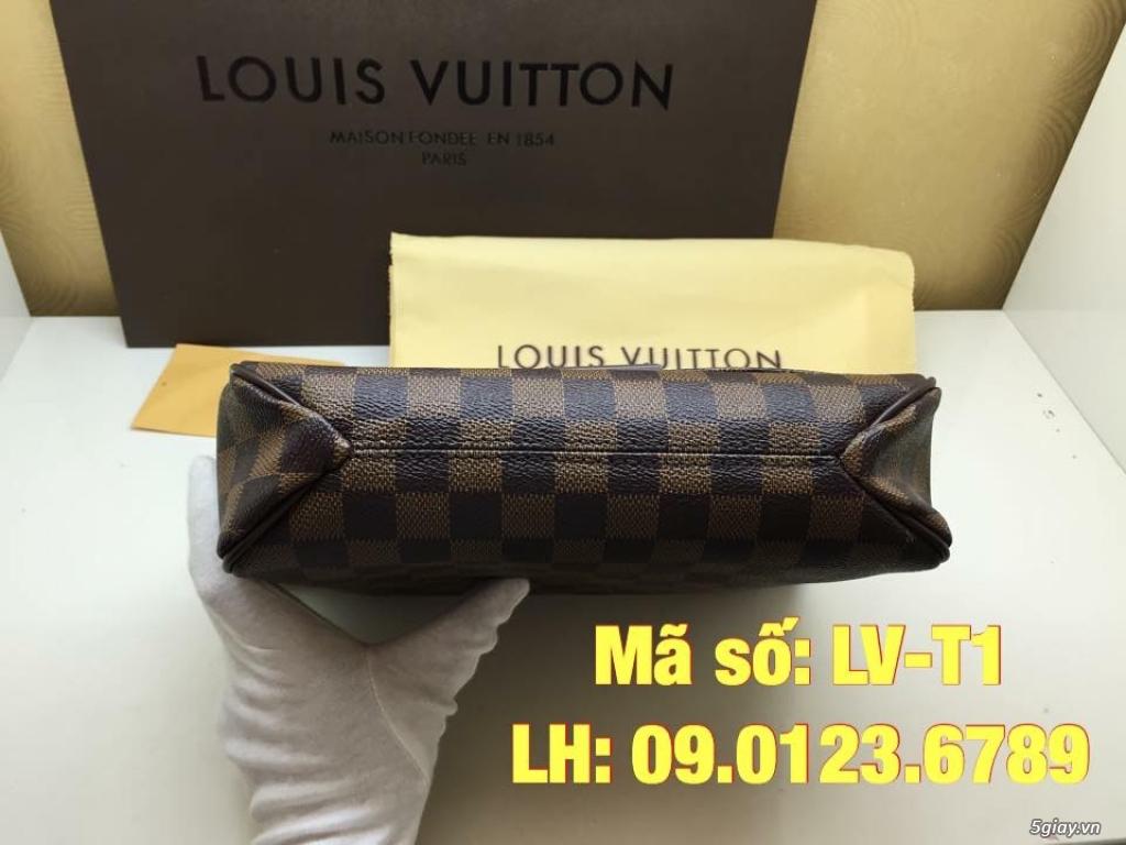 Túi LV District PM (size 25cm) màu caro nâu, hàng super đẹp. - 4