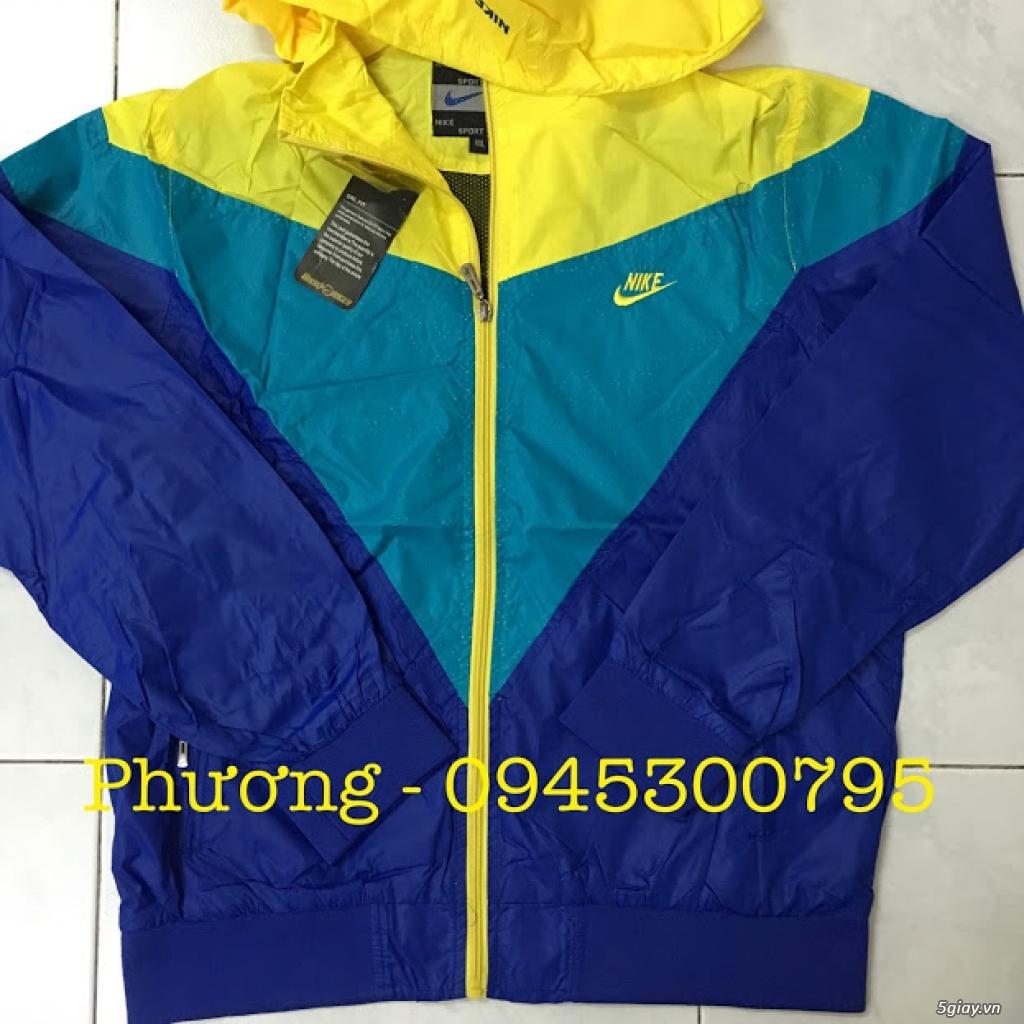 Áo khoác vải dù - Áo khoác Adidas, Nike, Kappa, Puma trẻ trung năng động... - 6