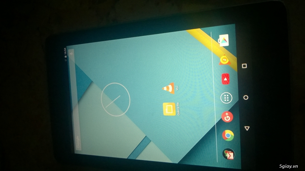 Tablet Nexus 7 Gen 1 mới 95%, 32GB, 3G, Wifi - 1,5 trieu