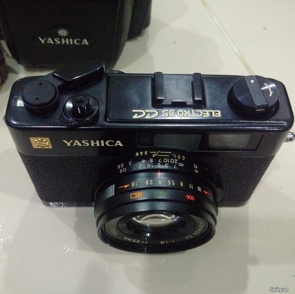 Bán một vài máy ảnh Film sưu tầm :Pentax spotmatic ,Yashica Electro 35cc,Retinette 1A Kodak - 15