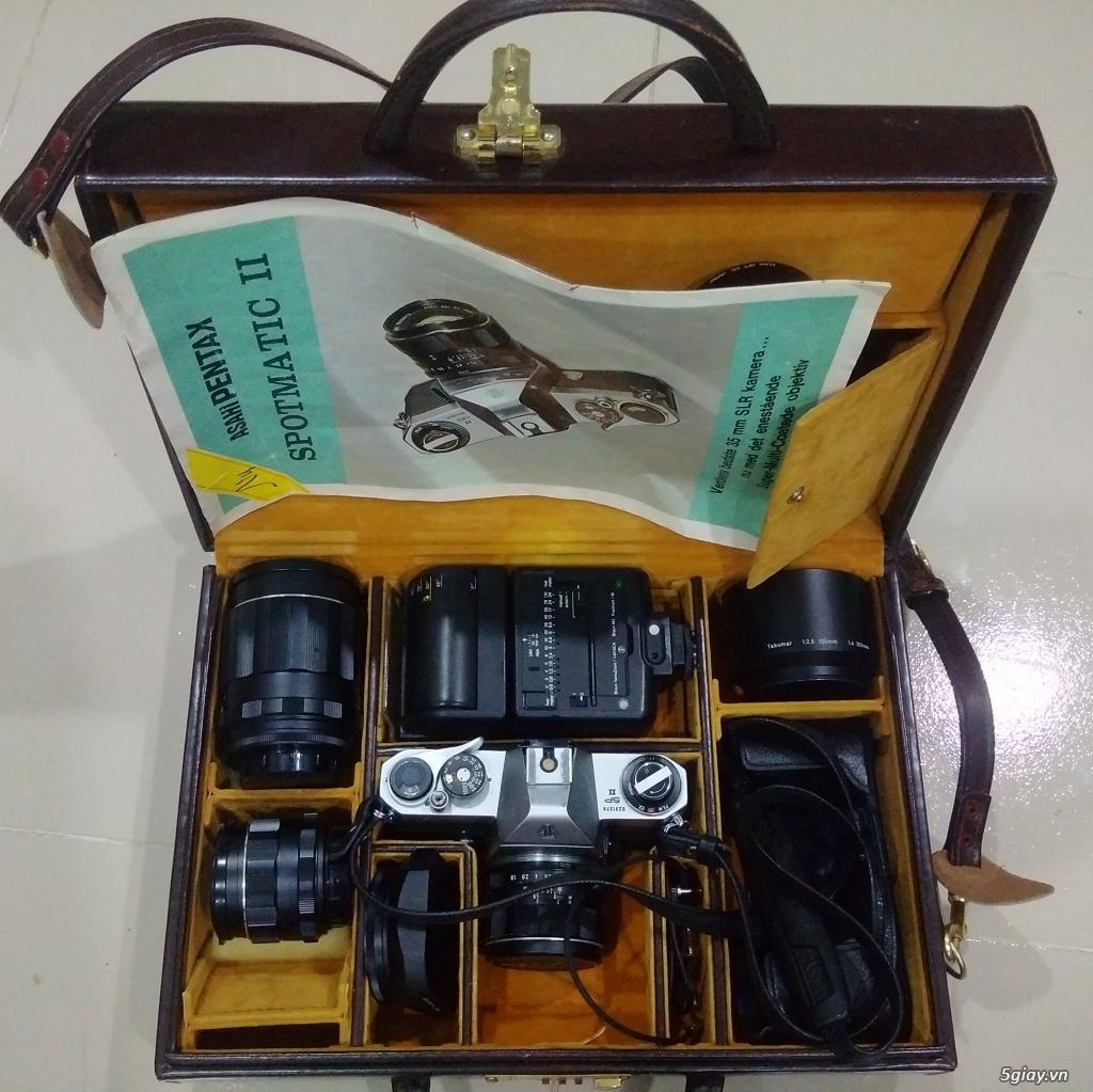 Bán một vài máy ảnh Film sưu tầm :Pentax spotmatic ,Yashica Electro 35cc,Retinette 1A Kodak - 1